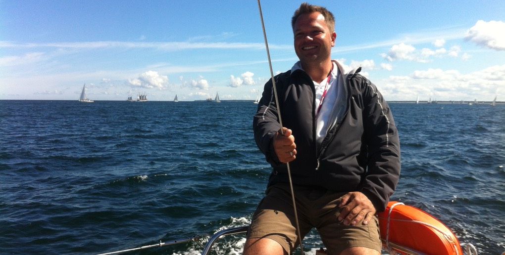 Skipper Mathias von Sailing Event